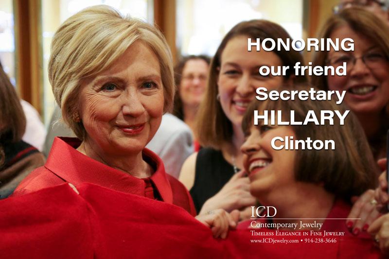 Honoring Hillary