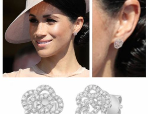 Diamond Flower Earrings Befit for a Royal