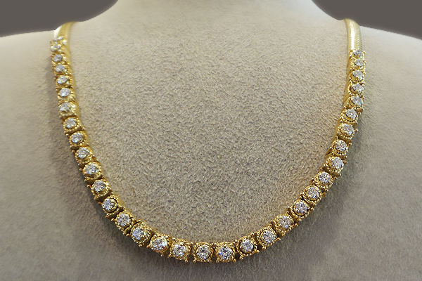 Take a Look at this Couture Necklace