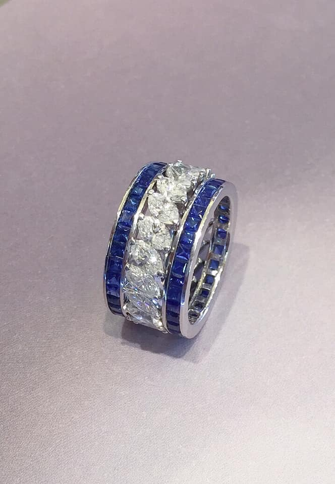 Sapphire Bands