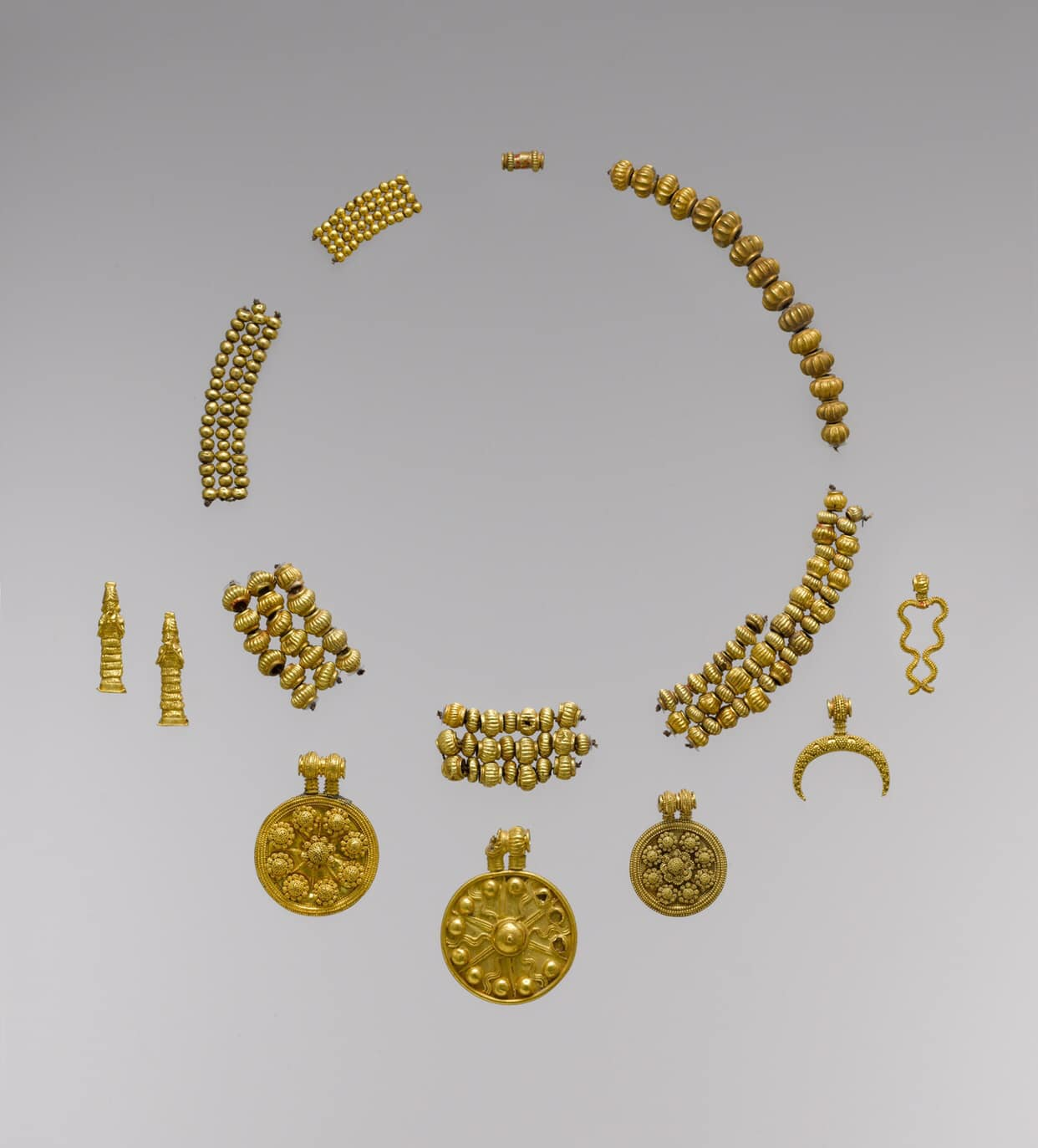 Granulated Beads and Charms