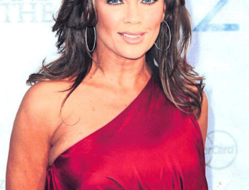 Vanessa Williams Wearing Pieces by ICD Jewelers