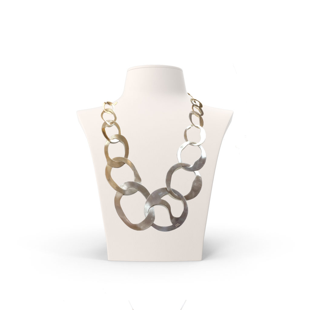 Anticoa Large Link Chain Necklace