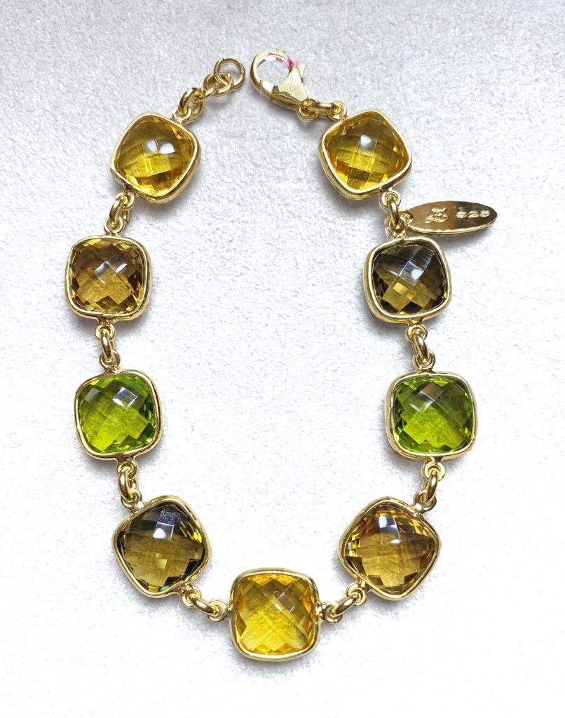 Zoccai Mix Citrine Bracelet