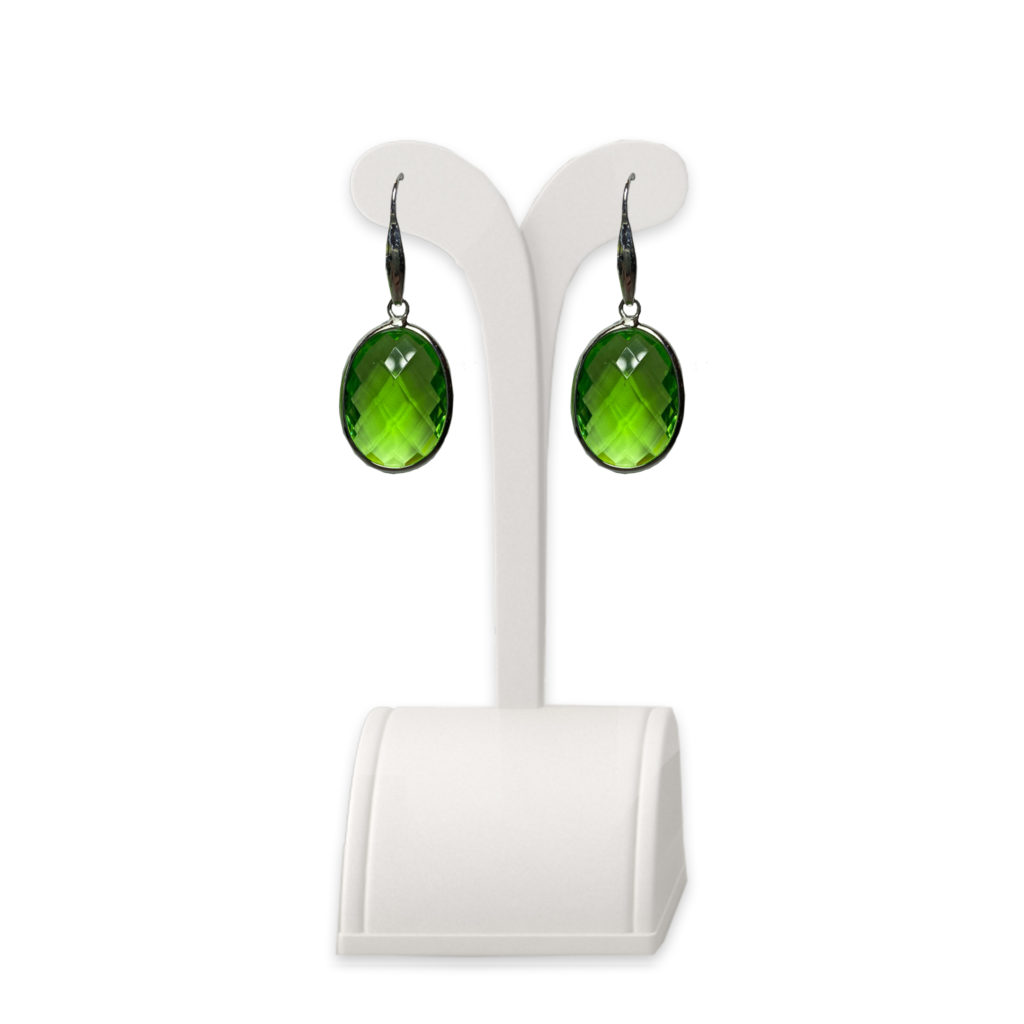 Zoccai Green Drop Earrings