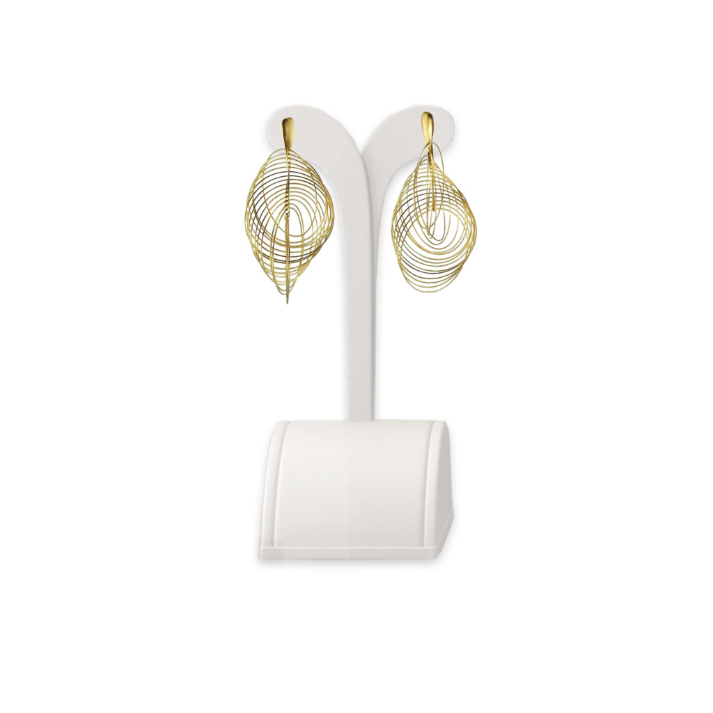 Anticoa 1000 Circles Gold Earrings