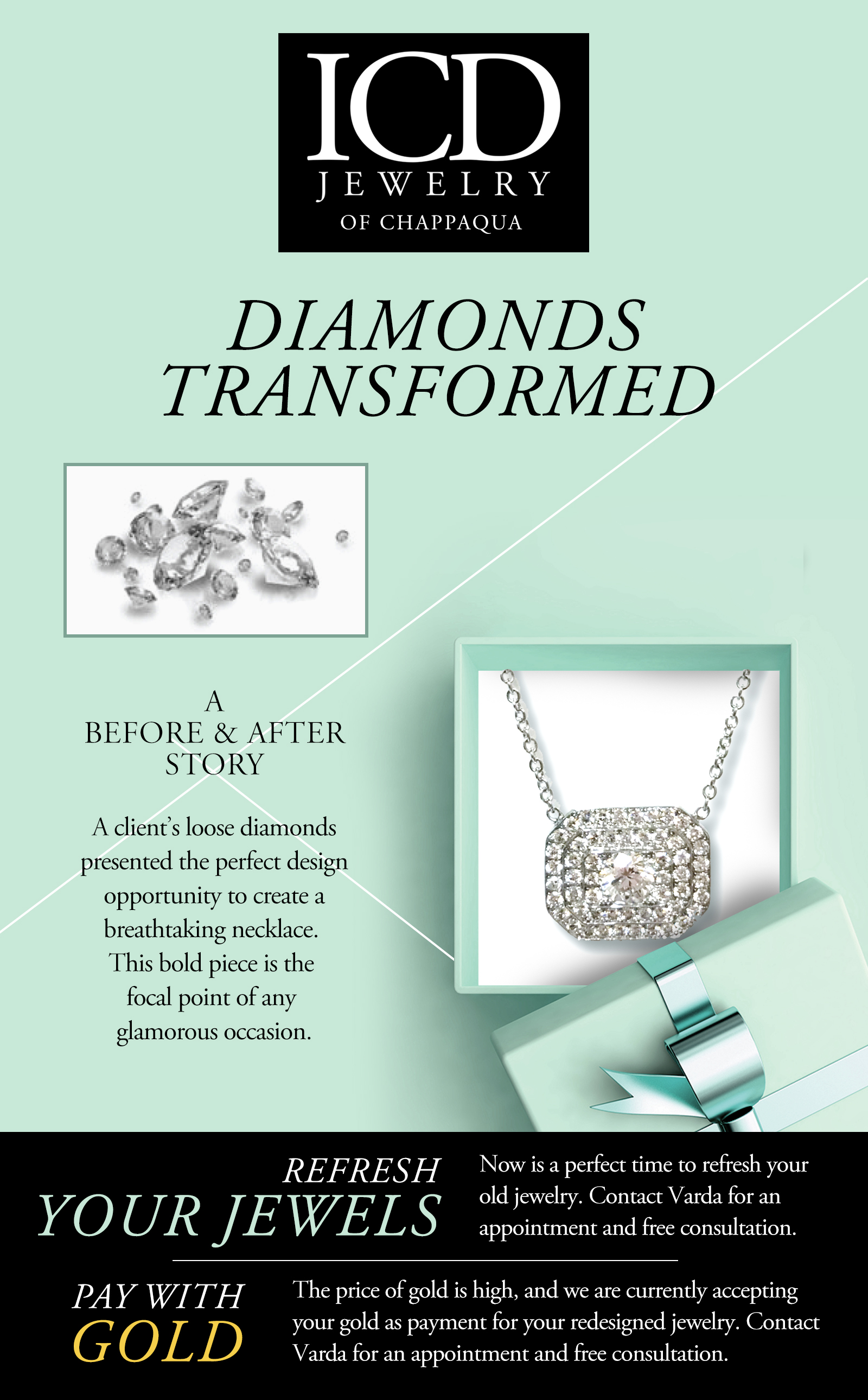 Diamonds Transformed